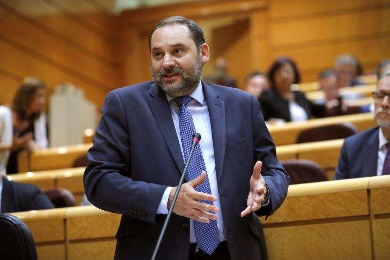 El ministro de Fomento, José Luis Ábalos. EFE/Archivo