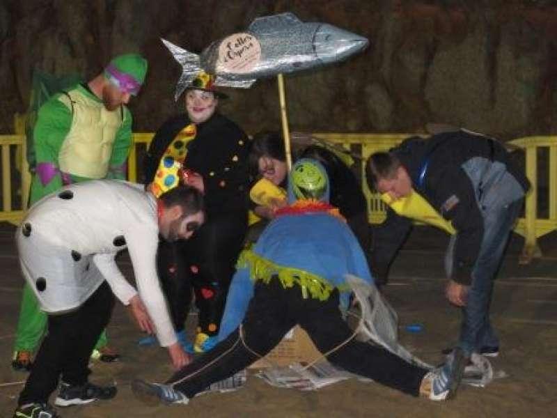 Celebración del Carnaval en Oropesa del Mar este pasado sábado. EPDA