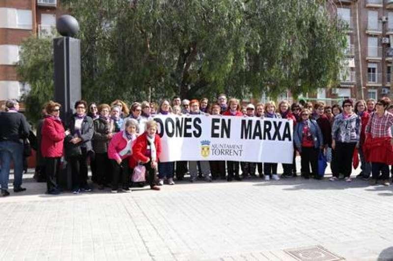 Marcha por la Igualdad en Torrent. EPDA