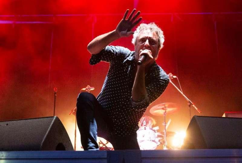 El cantante chileno Carlos Tarque, durante un concierto. EFE/Archivo