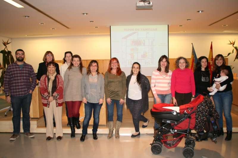 Participantes en los talleres de Orientación Familiar