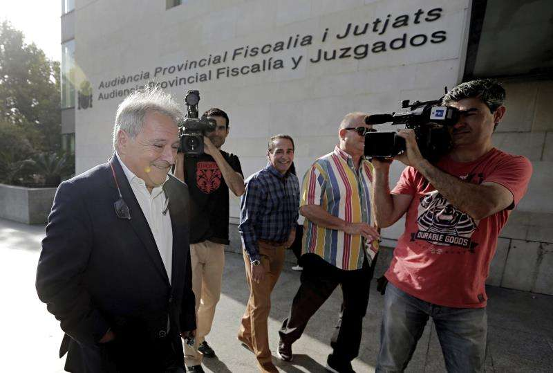 El expresidente de la Diputación de Valencia Alfonso Rus. EFE/Archivo