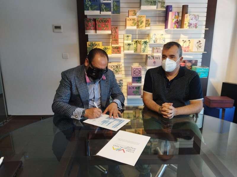 Firma convenio/EPDA