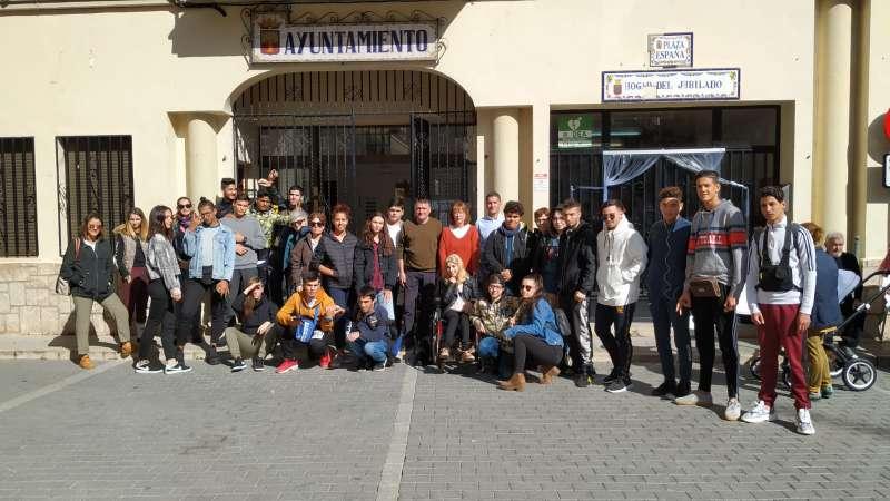 Estudiantes de Castellón y Valencia.