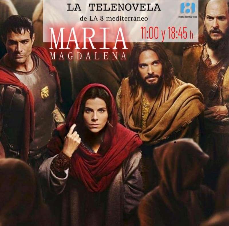 Cartel de la serie María Magdalena. EPDA