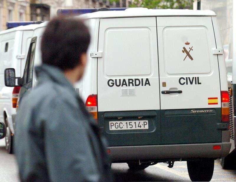 Furgón de la Guardia Civil. EFE/Archivo