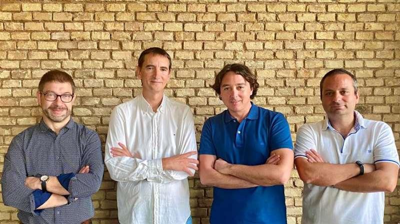Una imagen del equipo de Aunoa, facilitada por la entidad. EFE
