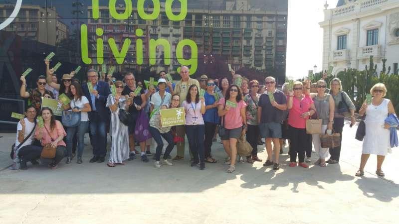 Participantes en la experiencia València Turisme.