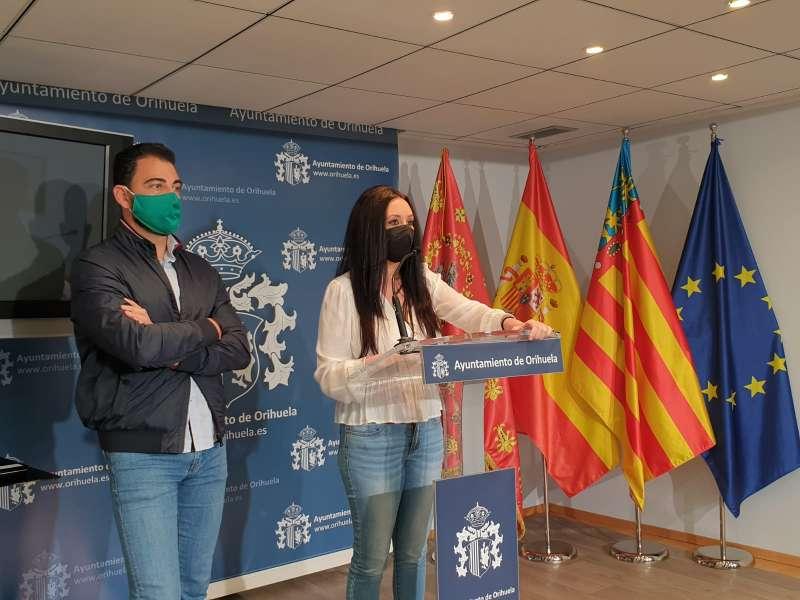 Almudena Baldó y Dámaso Aparicio/EPDA