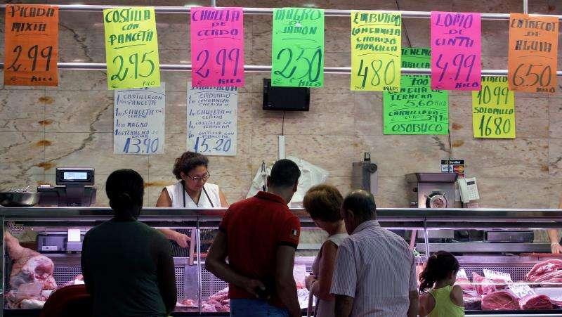 Un puesto del Mercado Central de València. EFE/Archivo