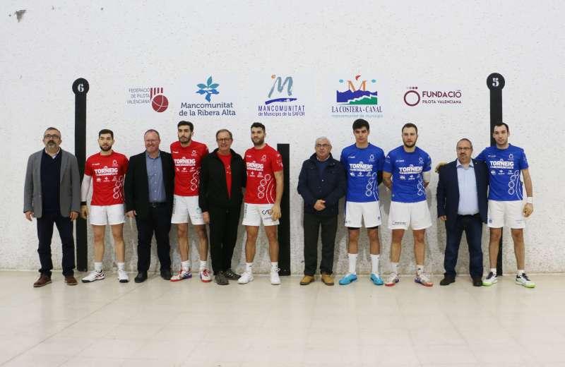 Equips finalistes i autoritats. -EPDA