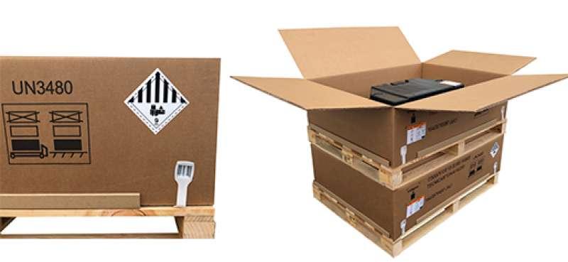 Imagen de una de las cajas fabricadas. -EPDA