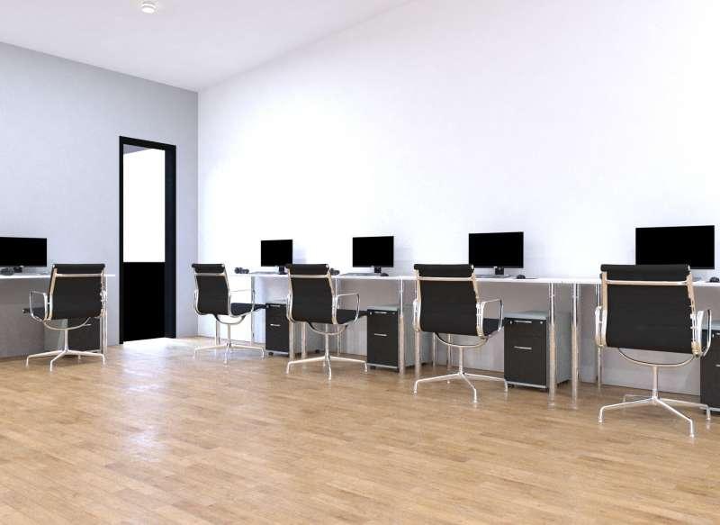 Futura sala de informática. / EPDA