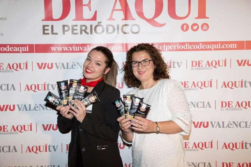 Productos Premium Velarte repartidos a todos los asistentes e invitados al acto.