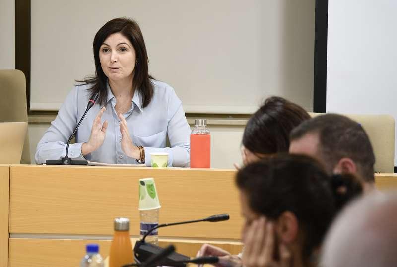 Portaveu del PSPV-PSOE, Maribel Albalat. EPDA