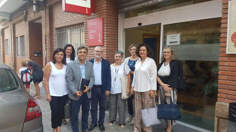 Visita al Punto de Atención Continuada de Alboraya. EPDA