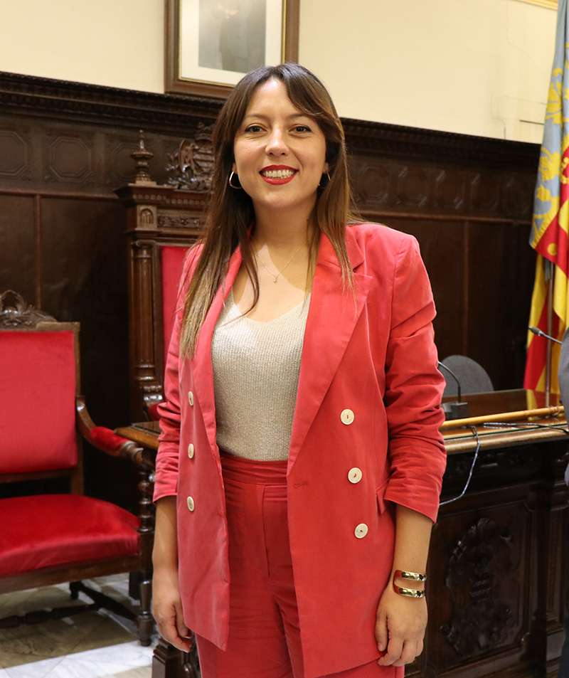 Gloria Parra, regidora del PSPV a l