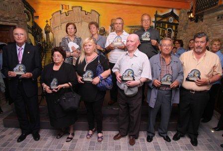Imagen de 10 de los premiados.