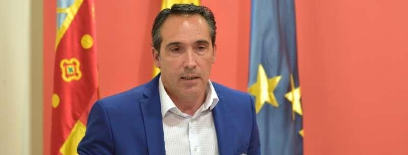 El vicesecretario general del Partido Popular de la Comunitat Valenciana y portavoz de Economía del GPP en Les Corts, Rubén Ibáñez.