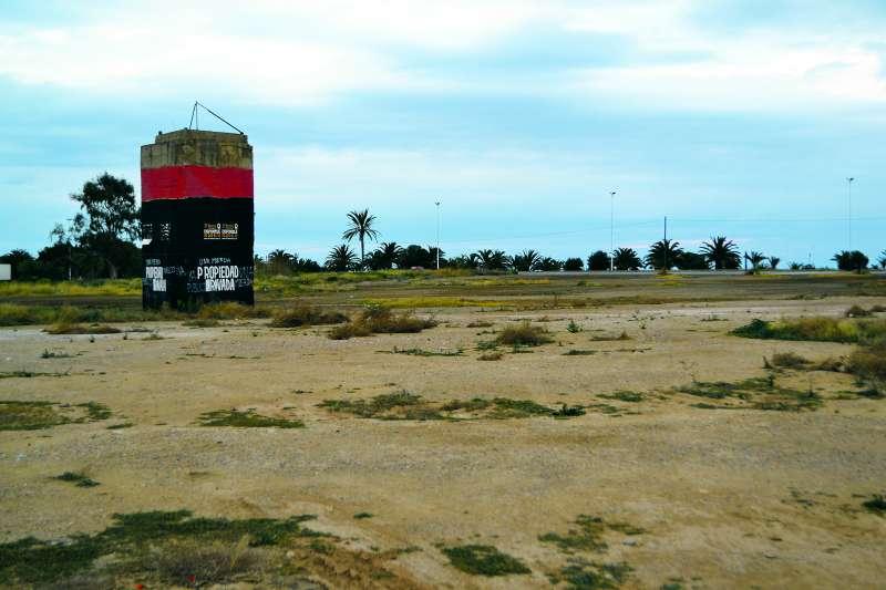Malecón de Menera de Port de Sagunt. EPDA