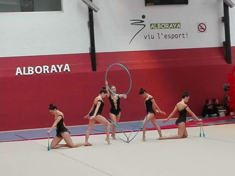 Actuación del club de Alboraya. EPDA