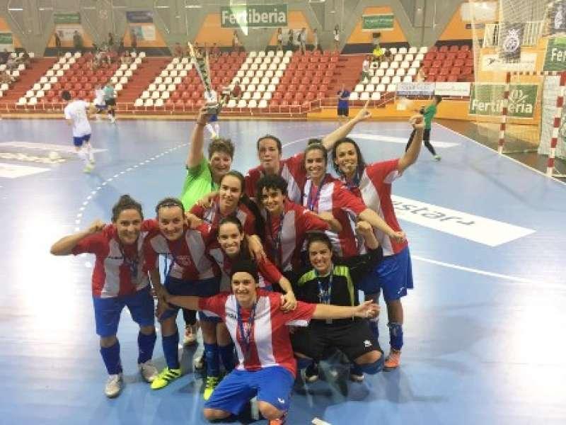 Jugadoras del equipo de Almàssera. EPDA