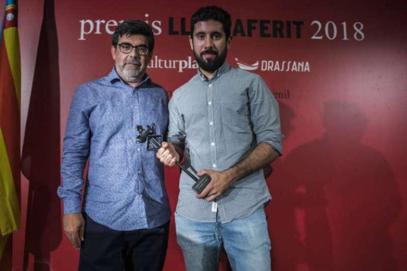 Carles Fenollosa i Toni Sabater. Foto Eva Mànez