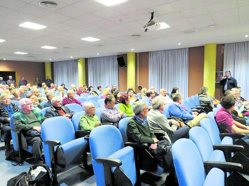 Audiencia sobre el Pantalán en el Port. EPDA
