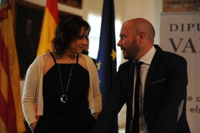 Rosa Pérez Garijo i Toni Gaspar