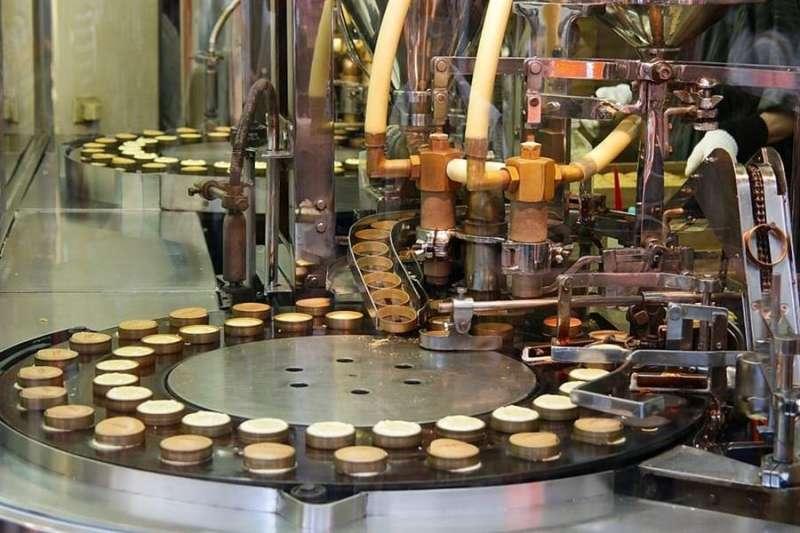 Una industria del procesado de alimentos, en una imagen del CSIC.