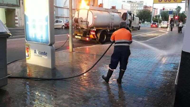 Servicio de limpieza en Alicante. EPDA