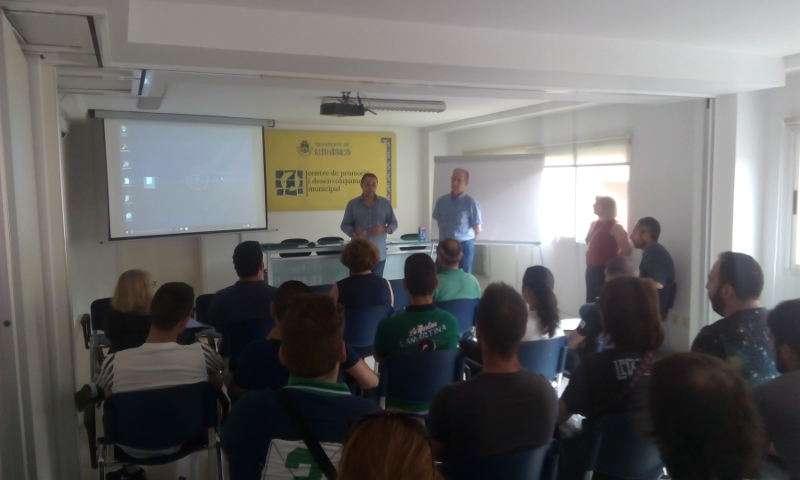 Formació dels joves contractats a Manises. EPDA