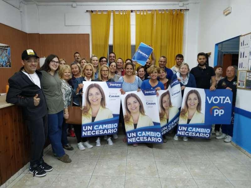 Los populares de Burjassot empiezan la campaña. EPDA