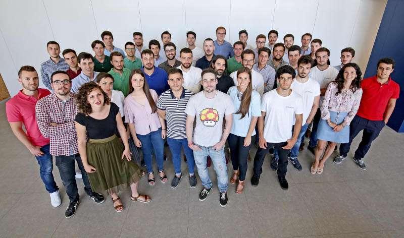Emprendedores participantes en el programa Garaje de Lanzadera