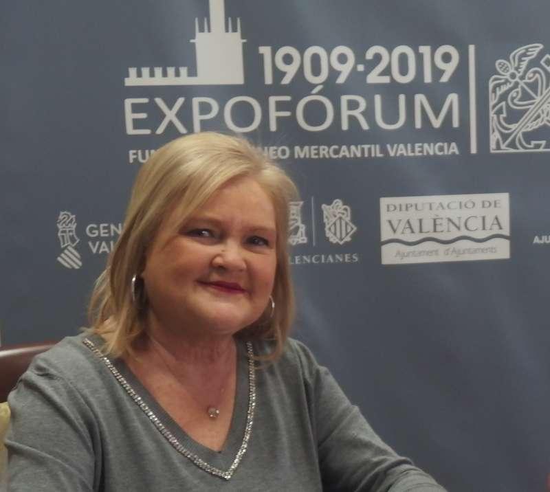 Carmen de Rosa, presidenta del Ateneo Mercantil de València