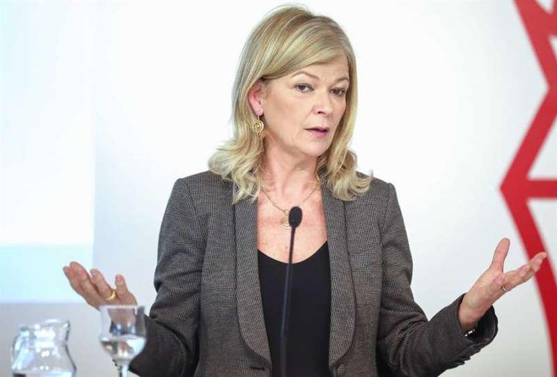 La consellera de Justicia, Interior y Administración Pública, Gabriela Bravo. EFE