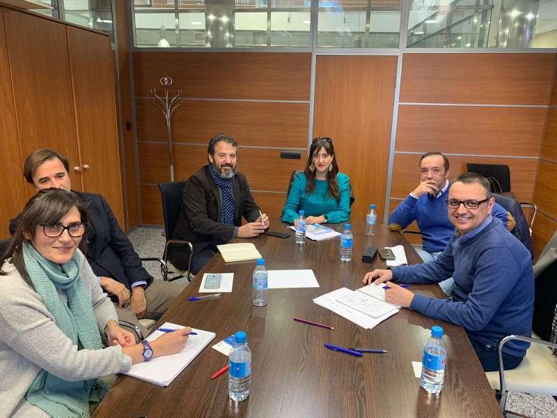 Reunión con el concejal de Áreas Industriales