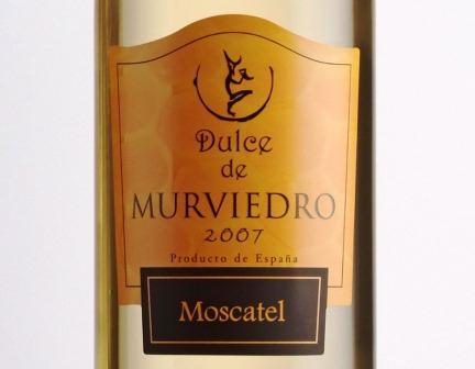 Etiqueta del Dulce de Murviedro. Foto EPDA