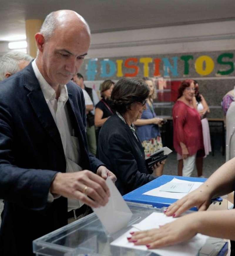El candidato de Vox a la alcaldía de València, Pepe Gosálbez. EFE