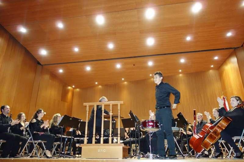 Un momento de la actuación. FOTO MURGUI