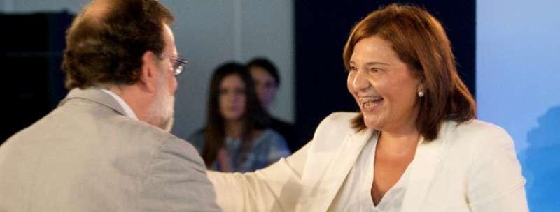 Visita de Mariano Rajoy a la Interparlamentaria celebrada este fin de semana en Alboraya.