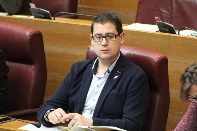 El diputat autonòmic de Compromís responsable de l?àrea de Turisme en el grup parlamentari de les Corts, Víctor Garcia