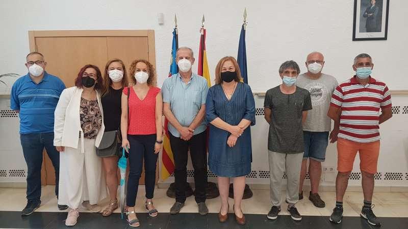 Els contractats per la Generalitat Valenciana a Manises. EPDA