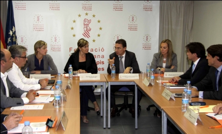 Presentación del plan frente a seismos de la Generalitat. Foto gva.es