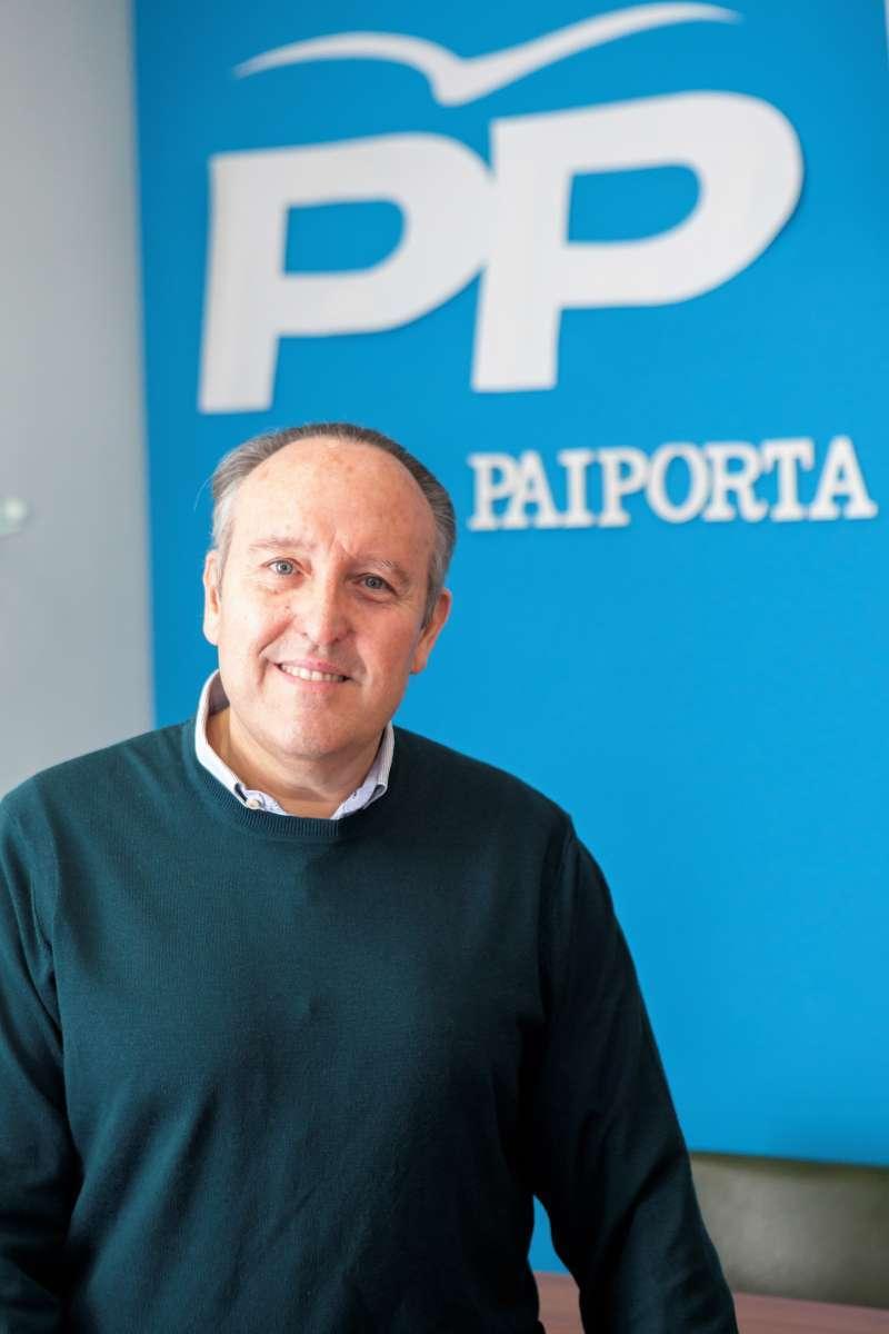 Vicente Ibor, portavoz PP en el Ayuntamiento de Paiporta.