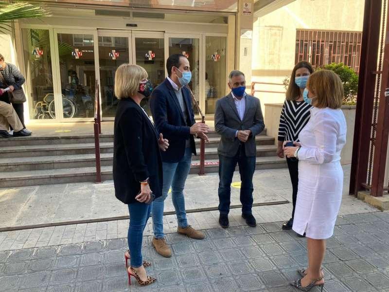 Dirigentes del PP han estado hoy en Vila-real