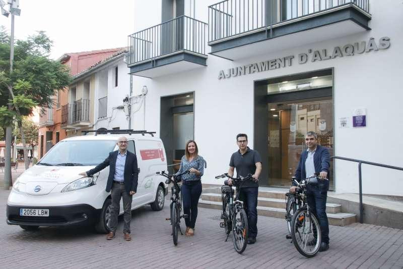 Recepció del vehicle i bicicletes elèctriques. EPDA