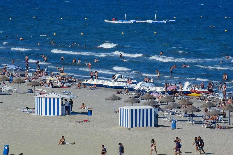 Playa de las Arenas Valencia (archivo)