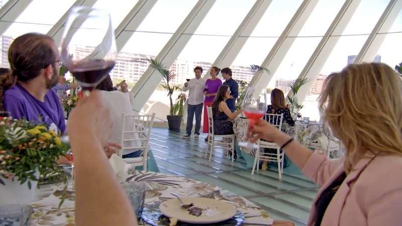 Brindis con vino DO Utiel-Requena en MasterChef Celebrity