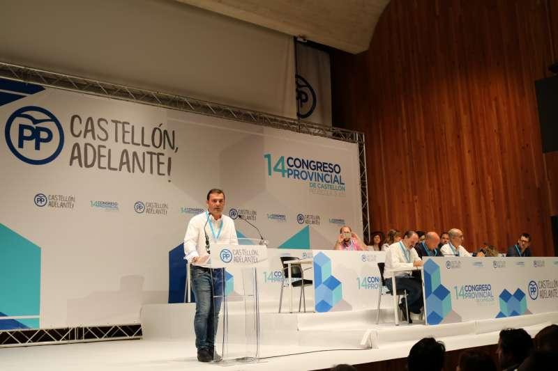 El alcalde de Peñíscola en el Congreso del PP en la provincia de Castellón.